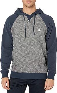 Young Men's Classic Pull Over Fleece Sweatshirt Hoody