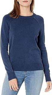 Goodthreads Amazon Brand Women's Mineral Wash Crewneck Sweatshirt Sweater