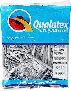 Qualatex 260Q Balloons - Chrome Silver (100/bag)