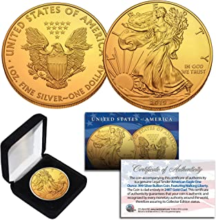 24k gold american eagle coin