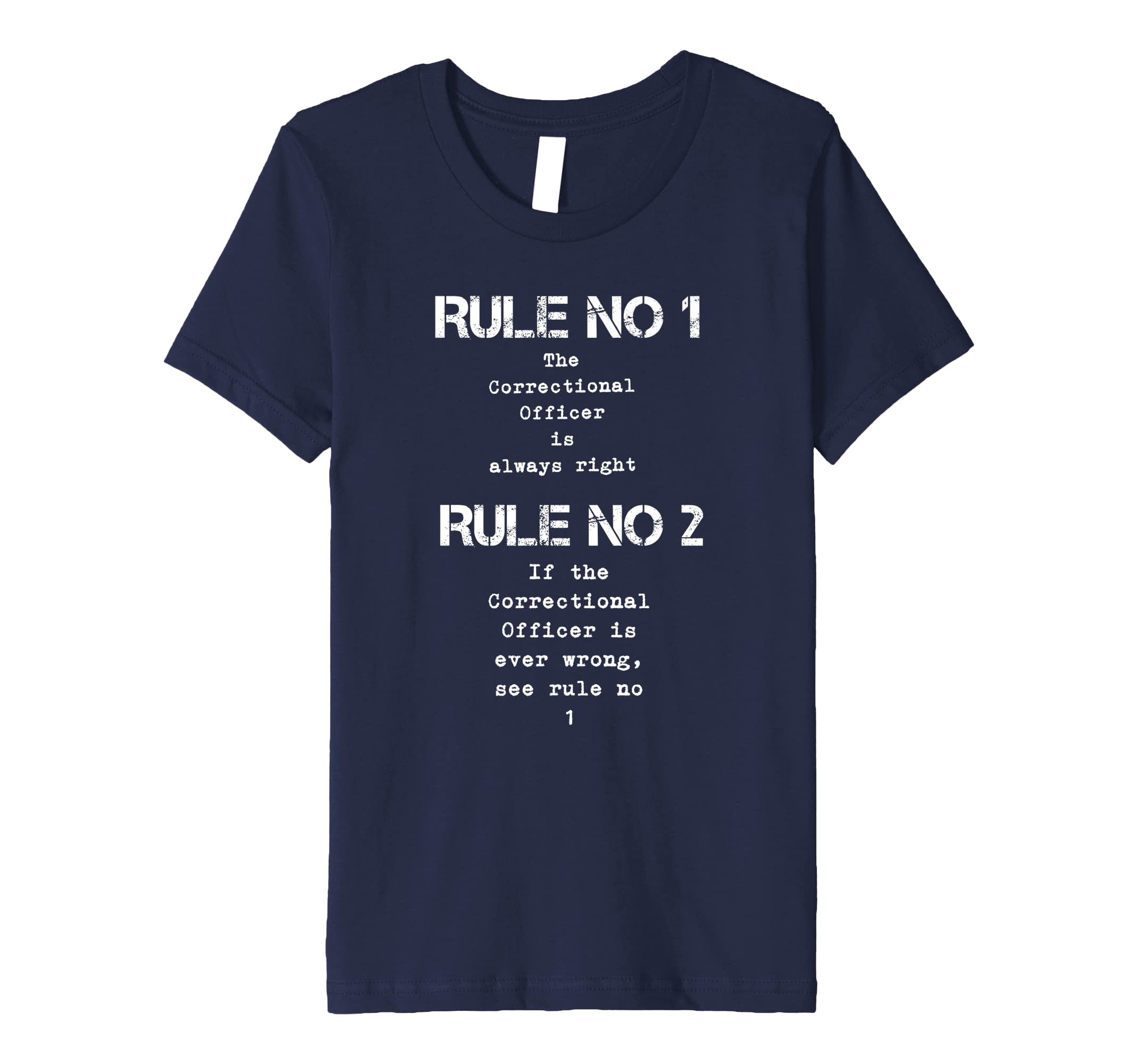 29e90406 Amazon.com: Correctional Officer Shirt Corrections Law Enforcement Funny:  Clothing