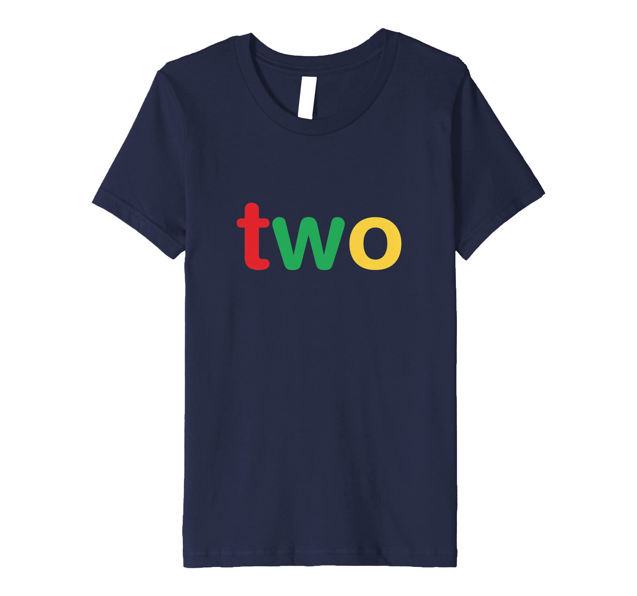 Amazon Kids Two 2nd Birthday Shirts For Boys Girls 2 Year Old Clothing