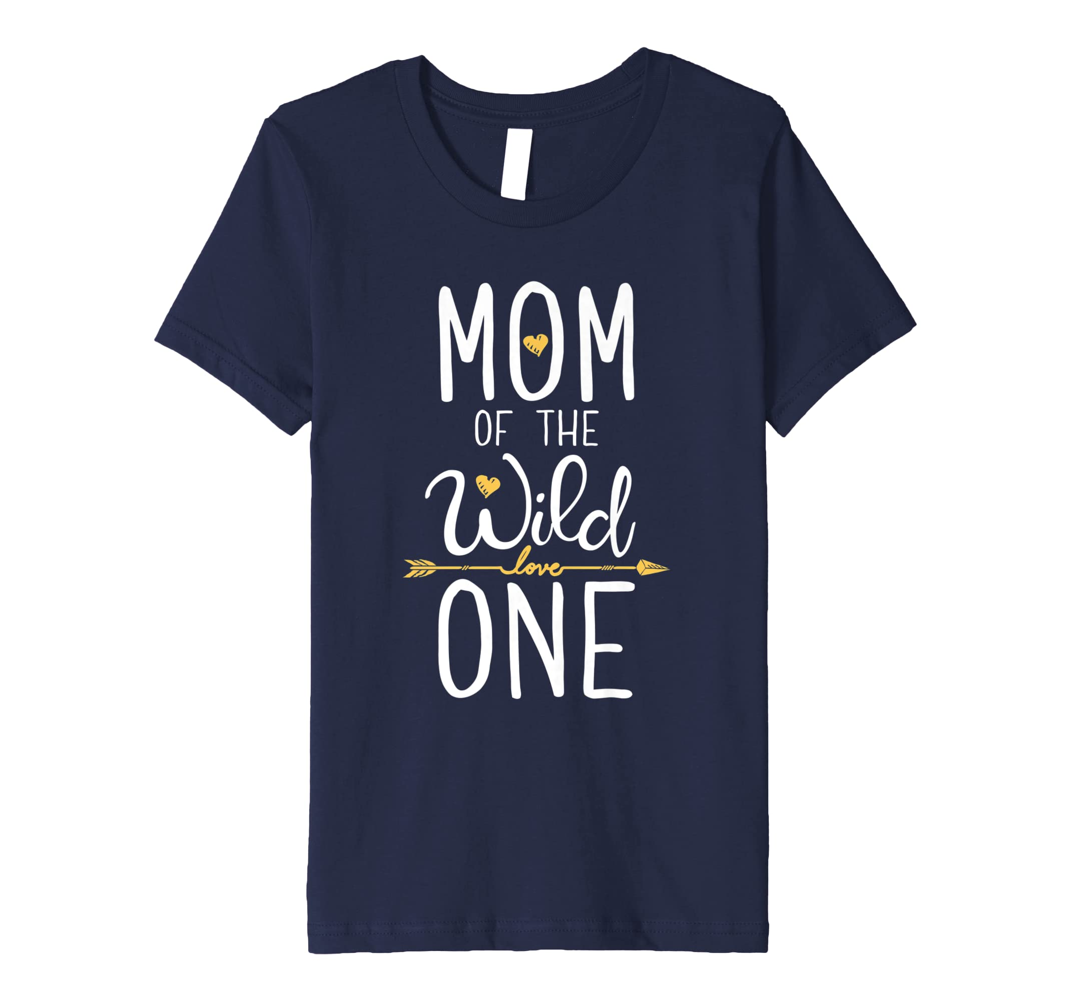 a204d72f Amazon.com: Mom of the Wild One T shirt Mother Moms Mommy Women Gifts:  Clothing
