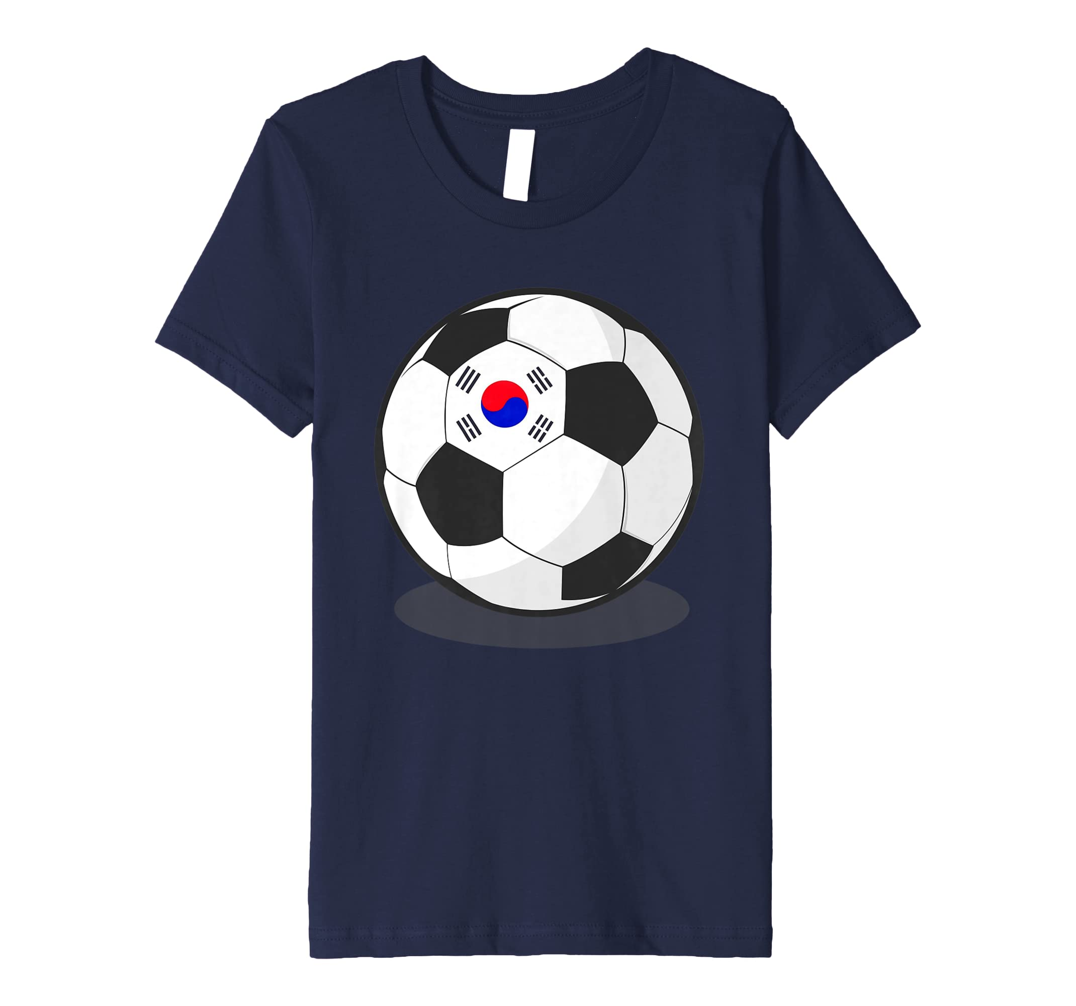 54706d250fd Amazon.com  Korean Flag On Soccer Ball