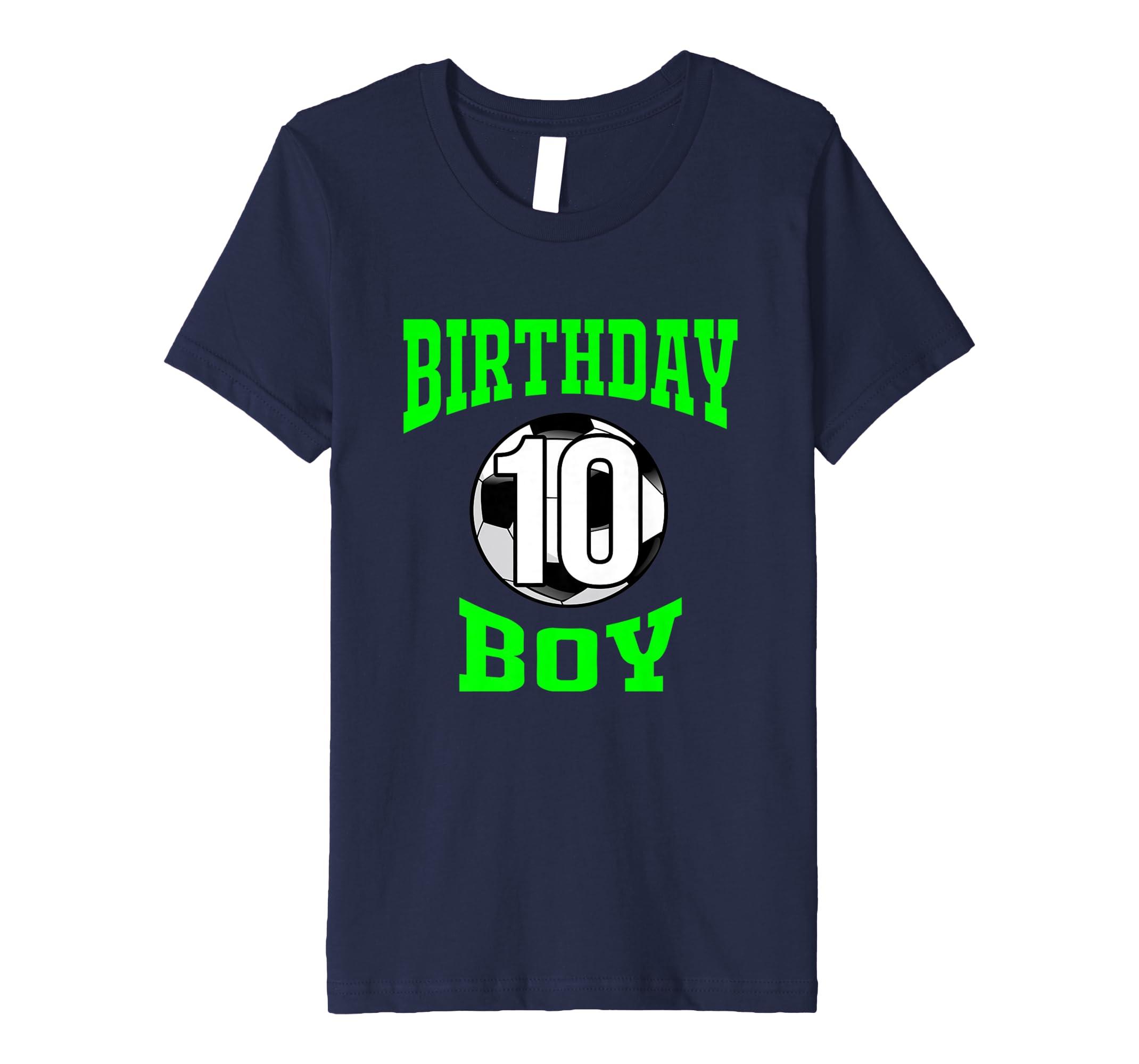 10th Birthday Boy Shirt