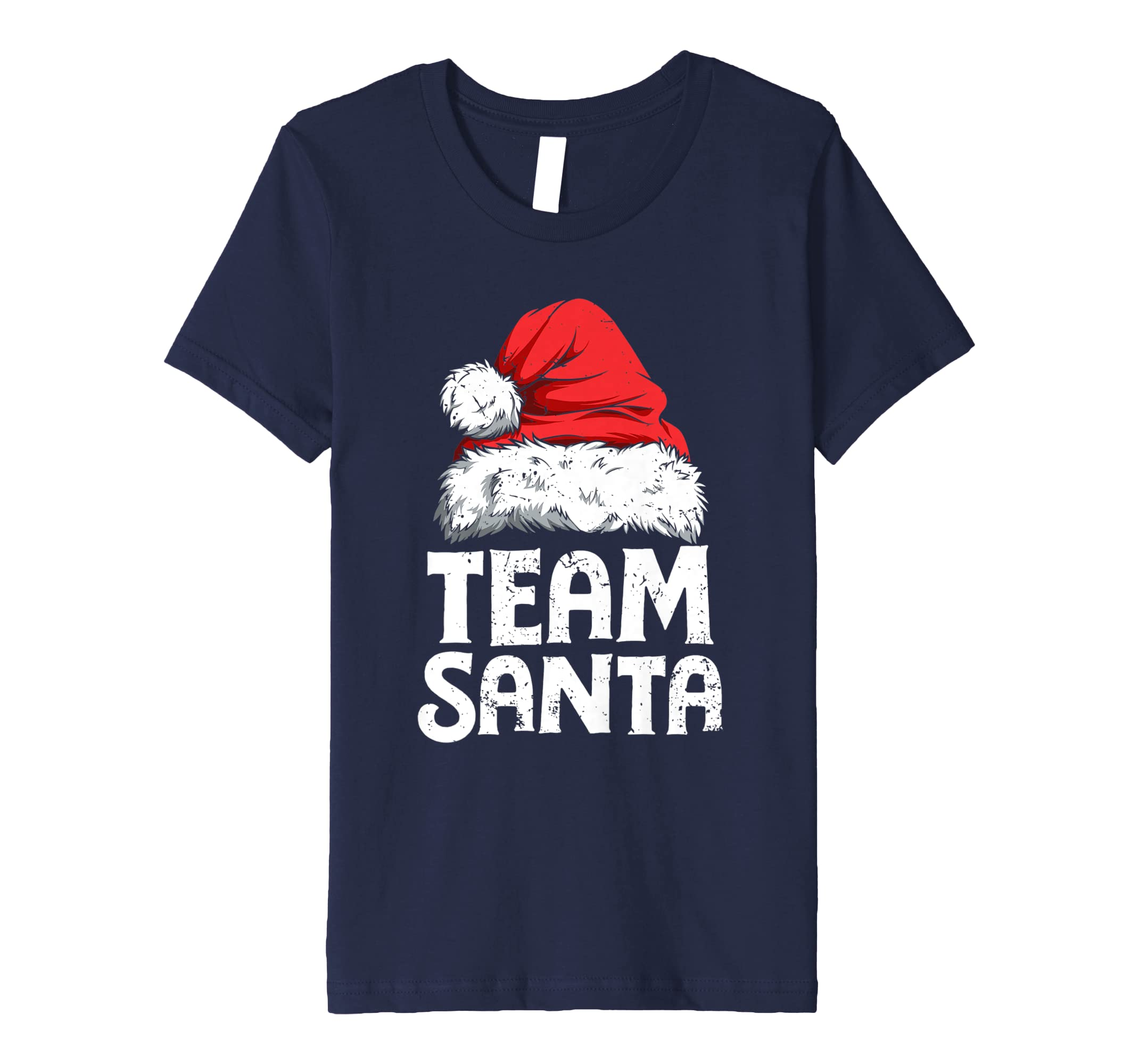 f297edfe82 Amazon.com  Team Santa T shirt Christmas Family Matching Pajamas Tees   Clothing