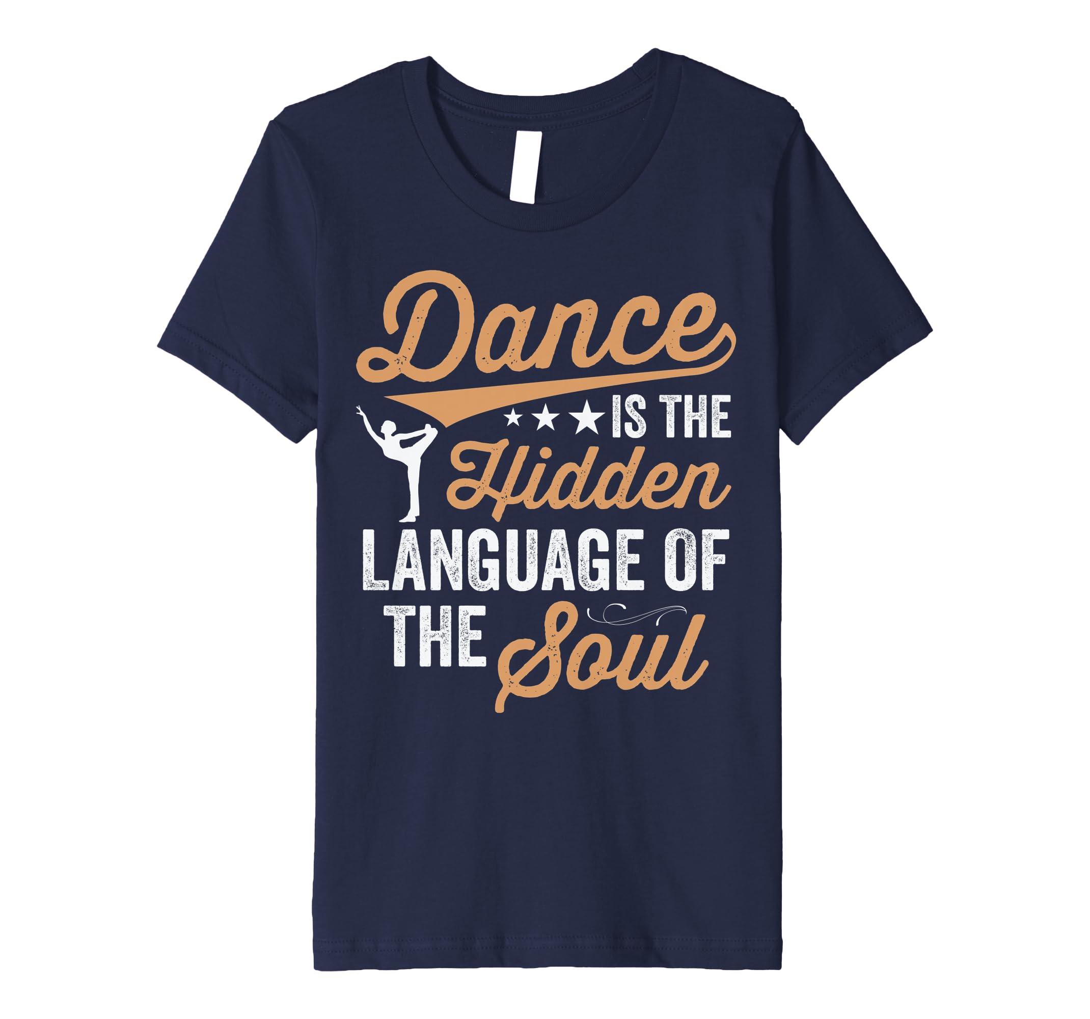472b015b Amazon.com: Dance Tees Premium Dance T-Shirt for Girls, Teens & Women:  Clothing