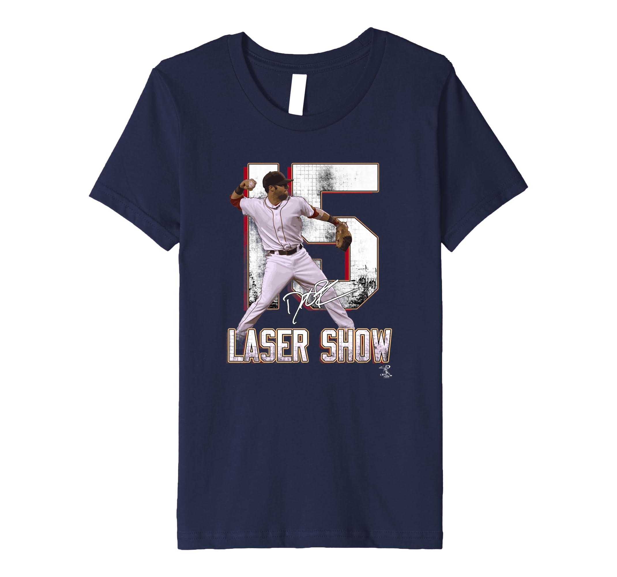 huge discount 7dad7 ea0d3 Amazon.com: Dustin Pedroia T-Shirt - Apparel: Clothing