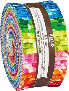 Birthstones Roll Up 40 2.5-inch Strips Jelly Roll Robert Kaufman Fabrics RU-872-40