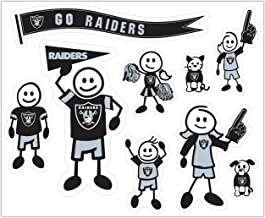 NFL Large Family Decal Set