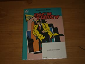 Dick Tracy Coloring Book