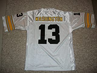 Unsigned James Washington #13 Pittsburgh Custom Stitched White Football Jersey Various Sizes New No Brands/Logos