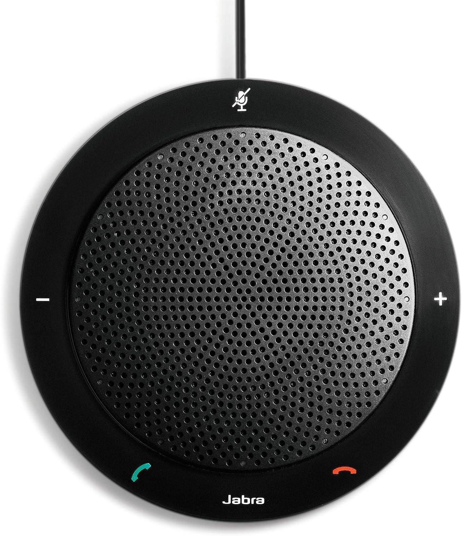 Jabra SPEAK410 - Altavoz de Ordenador con micrófono, Negro