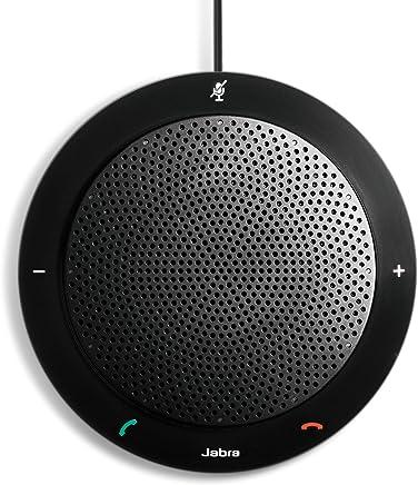 Jabra Speak  PHS001U 410 USB Speakerphone for Skype and other VoIP calls (U.S. Retail Packaging), Black - 100-43000000-02