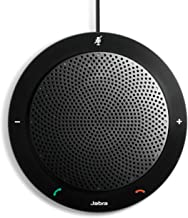 Jabra Speak 410 Corded Speakerphone for Softphones – Easy Setup, Portable USB Speaker..