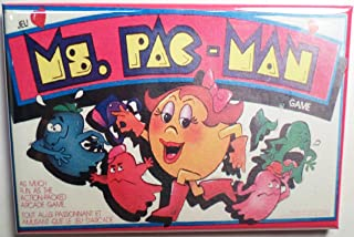 Ms. Pac Man Board Game Magnet Box 2