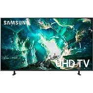 Samsung UN49RU8000FXZA Flat 49-Inch 4K 8 Series Ultra HD Smart TV with HDR and Alexa...