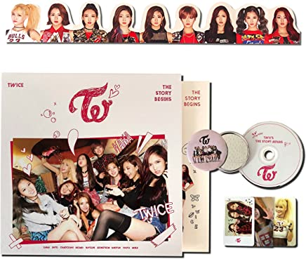 TWICE 1st Mini Album - [ THE STORY BEGINS ] CD + Photobook + Photocards + Garland + FREE GIFT / K-pop Sealed