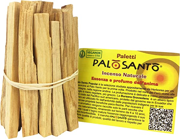Palo Santo Sticks From Per Natural Incense Sticks For Anxiety Meditation E Protection Ideal For Purifying And Cleansing Your Space Holy Wood Q Ty 2 8 Oz 80 G