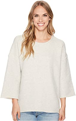 Dylan by True Grit Malibu Fleece Drop Shoulder Crew