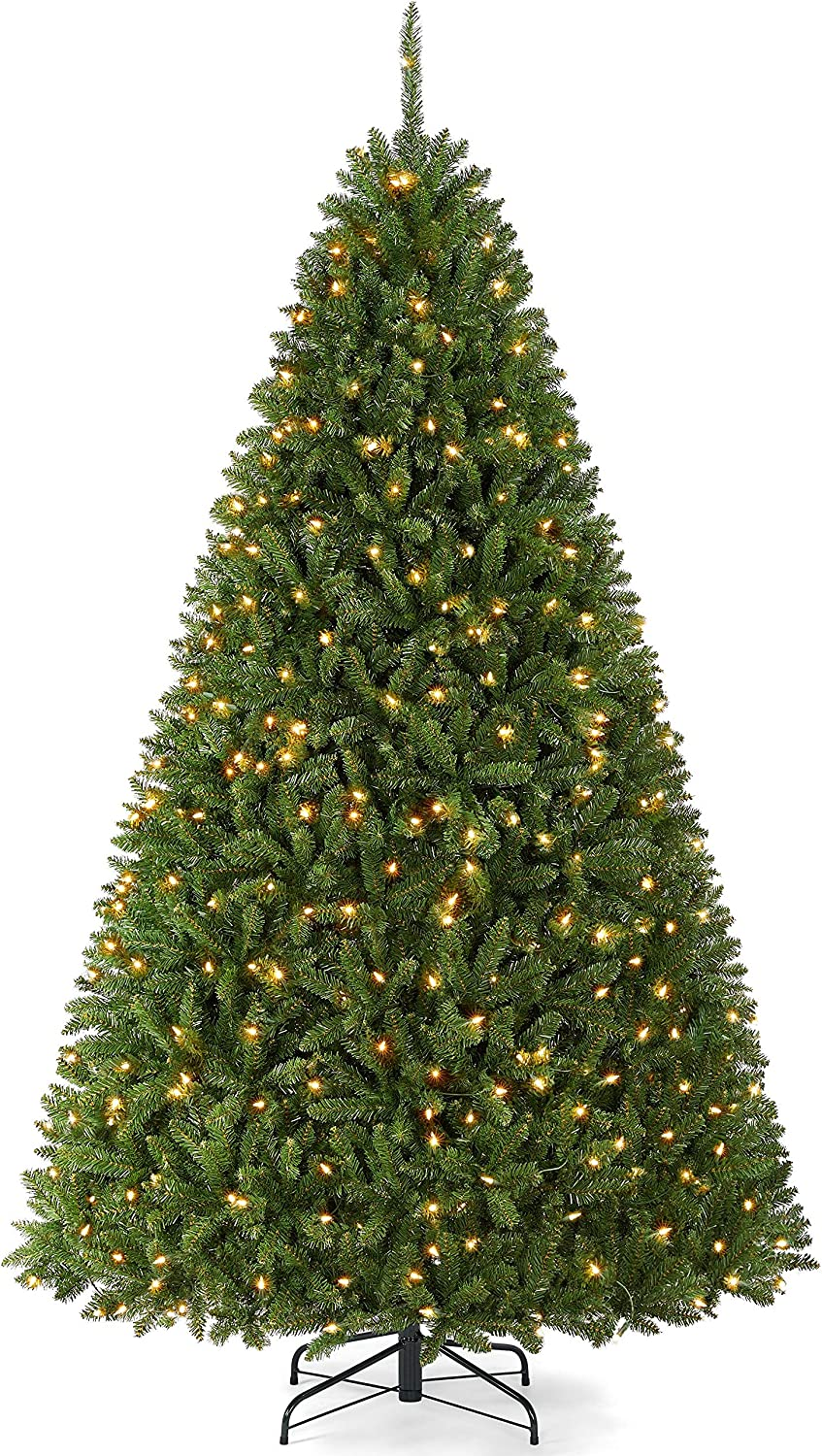 Yaheetech Premium Pre-lit Douglas Full 2021 autumn and winter new Ultra-Thick Spruce Ch Fir Year-end annual account
