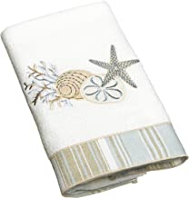 Avanti Linens By The Sea Hand Towel, White,10972WHT