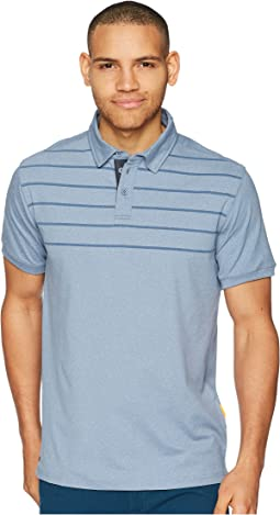 Striped Reel BacklashTechnical Polo
