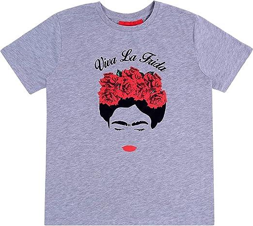 PRIMARK -:- sarcia.eu Camiseta Gris Viva La Frida XXS ...