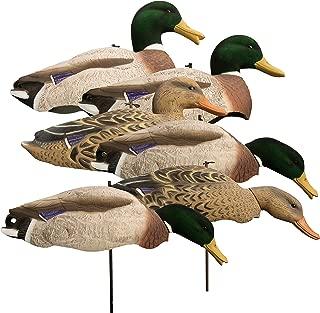 Higdon Outdoors Magnum Full Form Shell Mallard, Variety Pk, Flocked Heads