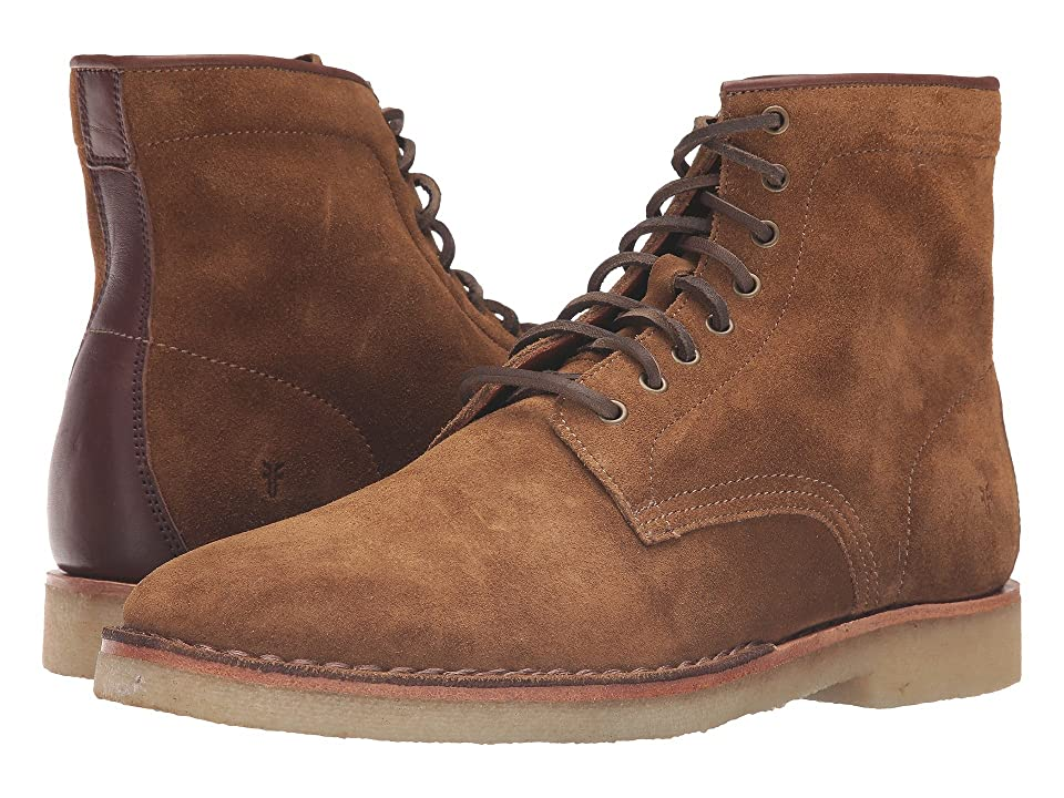 Frye Arden Lace-Up (Khaki Oiled Suede) Men