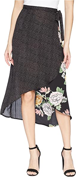 Bishop + Young Enchanted Garden Mix Media Skirt
