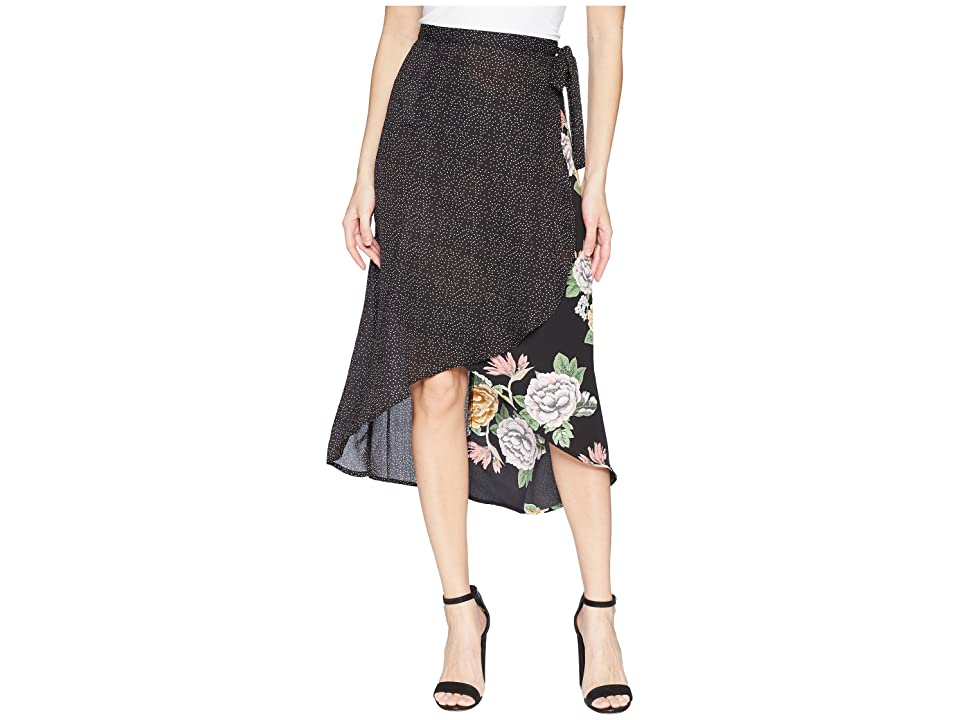 Bishop + Young Enchanted Garden Mix Media Skirt (Enchanted Garden) Women