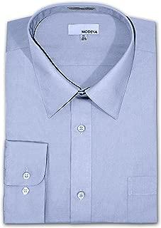 Big and Tall Poplin Dress Shirt - LIGHT BLUE