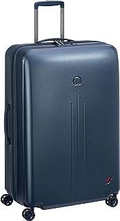 3c3845c15 Delsey Paris New ENVOL Hand Luggage, 78 cm, 98.8 liters, Blue (Blau