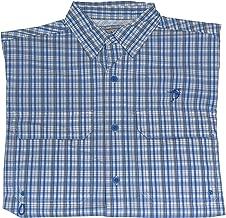 Bimini Bay Outfitters Pine Island Plaid Short Sleeve Shirt