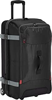 AmazonBasics Wheeled Travel Duffel, Large, Black
