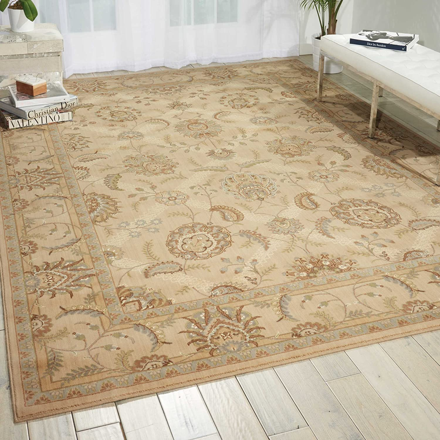 Nourison Persian sold out Max 81% OFF Empire Ivory Rectangle by Rug 15- Area 12-Feet