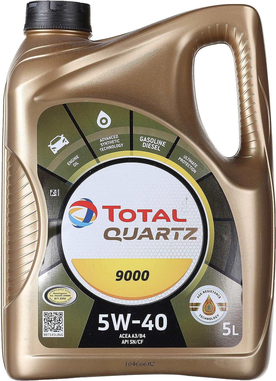 Total Quartz 9000 5w 40 5l Auto