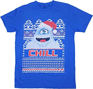 Men's Bumble The Abominable Snow Monster Rudolph The Red Nosed Reindeer Tee