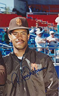 ROBERTO ALOMAR SIGNED SAN DIEGO PADRES PHOTO INDIANS ORIOLES BLUE JAYS SOX METS