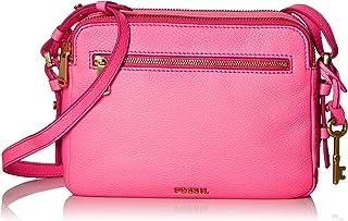 Fossil Piper Leather 22.86 cms Pink Gym Shoulder Bag (ZB6865673)