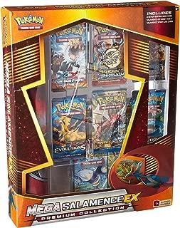 Pokémon TCG: Mega Salamence, Mega Garchomp Box Card Game