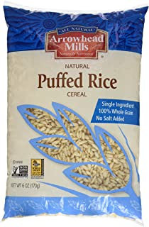 Arrowhead Mills Puffed Rice Cereal, 6 oz
