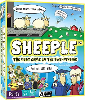 SHEEPLE: Fun Family Party Game for 3-12 Players, Ages 8+ - Think Like a Sheep