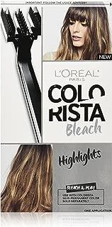 L'Oreal Paris Colorista Bleach, Highlights