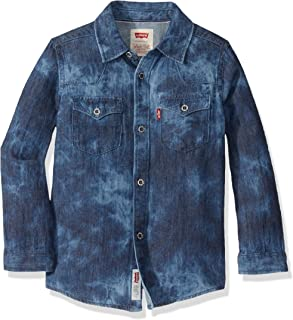 Levi's Boys' Denim Western Shirt