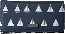Coastal Be Rich Trifold Wallet