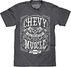 Tee Luv Chevy Shirt All American Muscle - Chevrolet Graphic Tee Shirt
