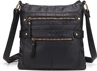 Best Scarleton Small Crossbody Shoulder Bag for Women, Ultra Soft Washed Vegan Leather, H1820 Review