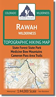 rawah wilderness map